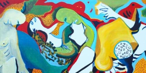 Karim Abu Shakra Palestinian Art Banner