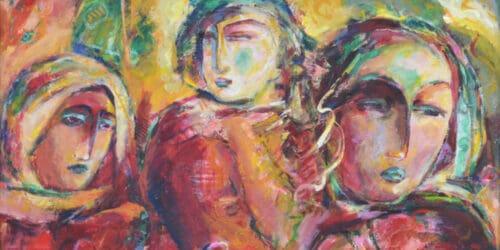 Shafik Radwan Palestinian Art Banner