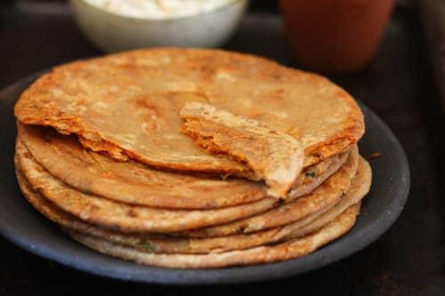 Satpadi - Spiced Griddle bread