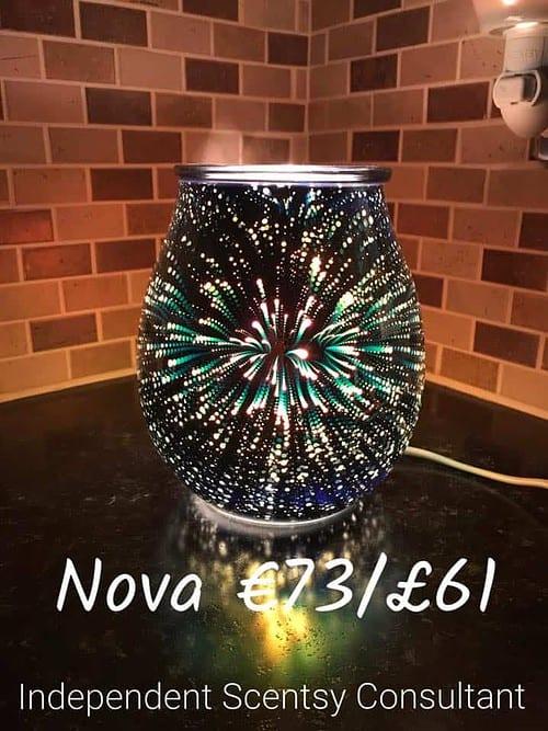 Scentsy Nova Warmer - Fireworks Warmer