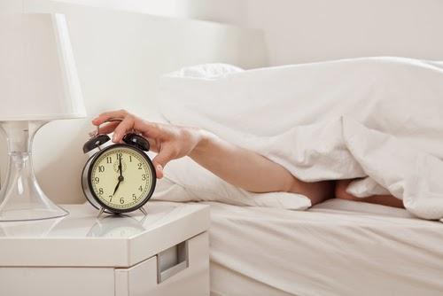alarm clock - oversleeping
