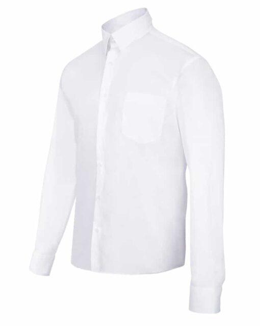 Camisa homem stretch hoteleria branca