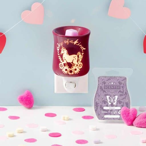 Unicorn Candle Electric Wax Warmer from Scentsy - perfect cheap valentines day gift
