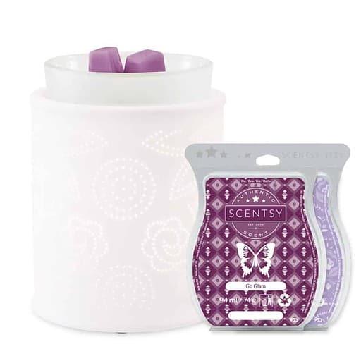 Pinhole Paisley scentsy Warmer Valentines Day Gift Bundles