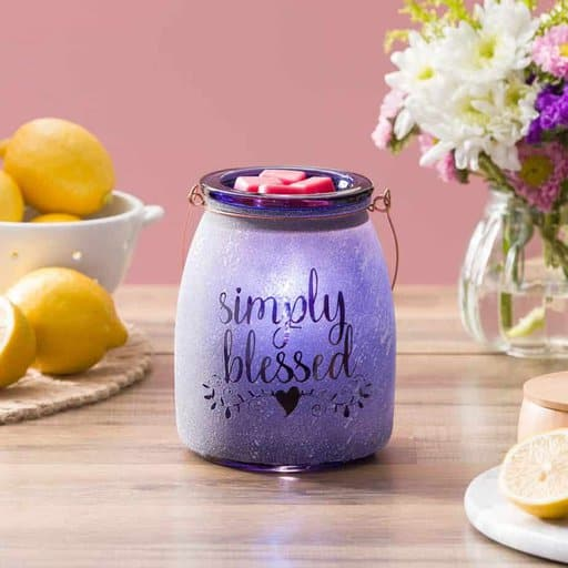 Simply Blessed Scentsy Charity Warmer 2021
