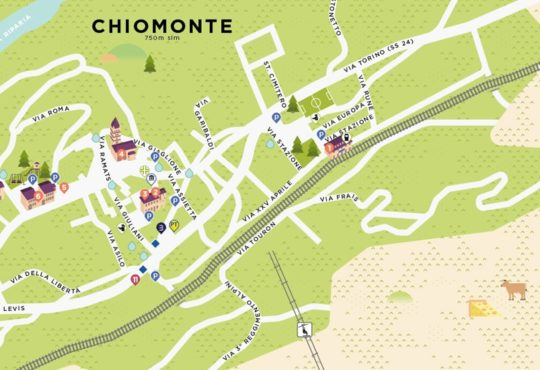Guida turistica Chiomonte