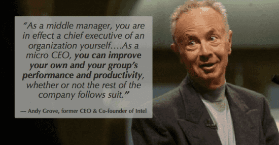 when to quit your job as a leader is hard but Grove knows you can help your team