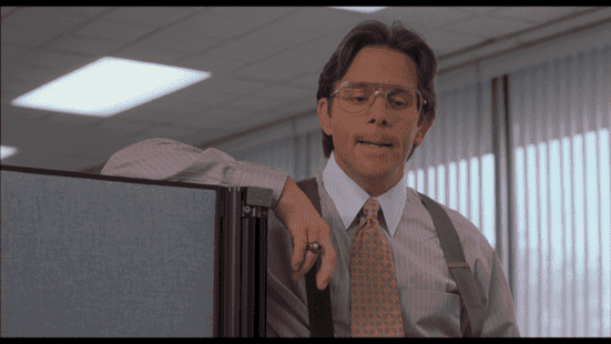 employees leave managers, not companies lumbergh would spout buzzwords