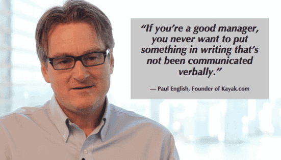 constructive feedback paul english knows you gotta talk about it