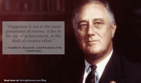How to thank your employees - be like franklin d roosevelt and recognize there's more than money