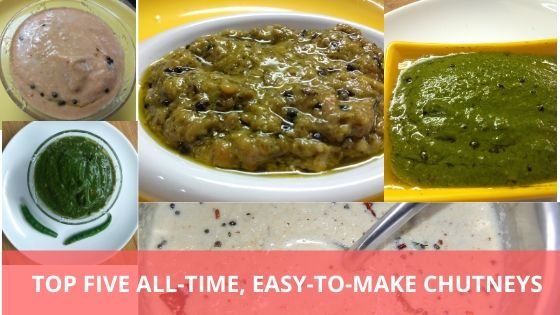 Top Five All-Time, Easy-To-Make Chutneys