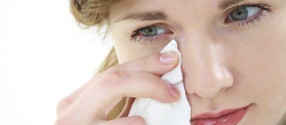 Allergie, Trockene Augen, Linderung