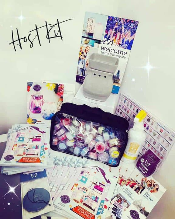 Join Scentsy UK for only £50 with our exclusive Host Starter Kit