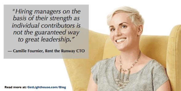 senior leaders who become managers of managers need to pick the right people to promote