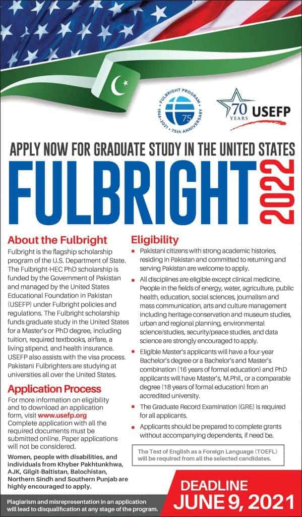 Fulbright Scholarship 2022 Application Guide Complete step by step process