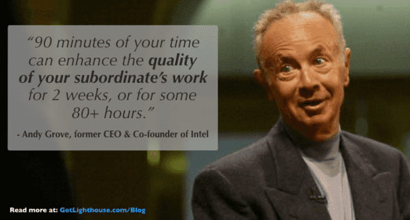 one on one meeting questions andy grove knows their importance