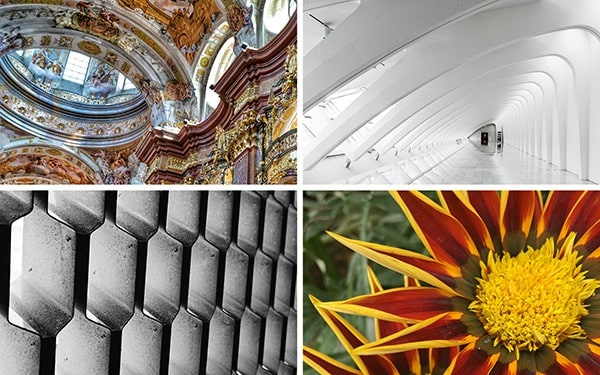 Find inspiration in nature, architecture and technology