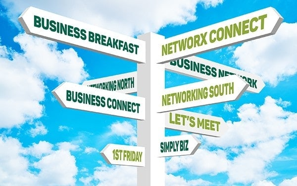 lots of networking options open to freelancers
