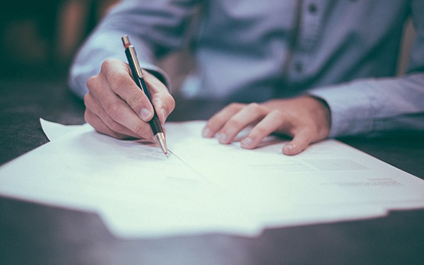 don't start work without a contract