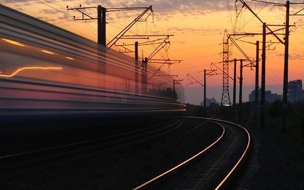 fast moving trains are hazardous to rail contractors