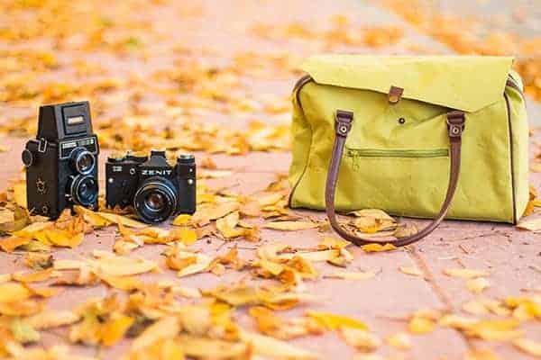camera and bag left behind
