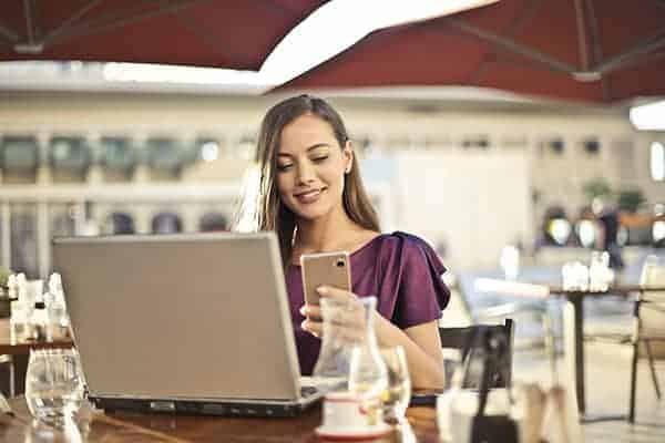 online shopping and banking