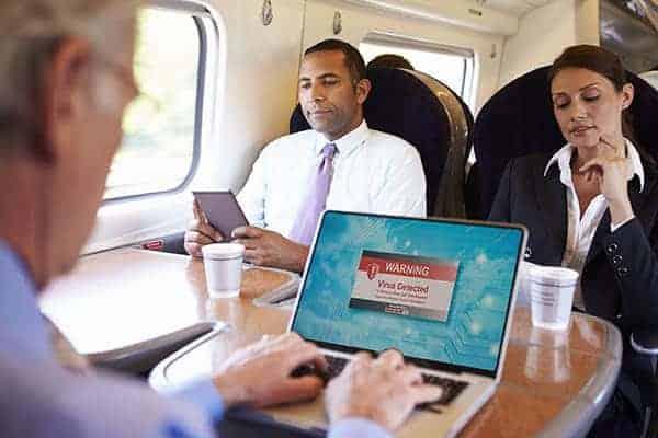 rail commuter hacked
