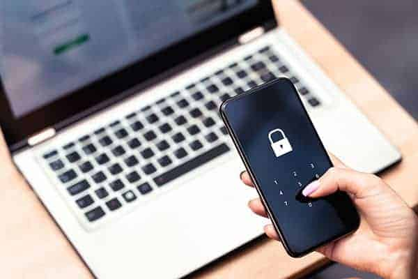 two factor authentication can help keep data secure