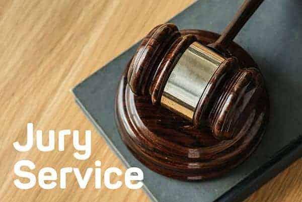 jury service as a self employed professional