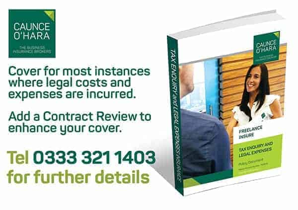 Tax Enquiry and Legal Expenses Insurance IR35 Contract Review