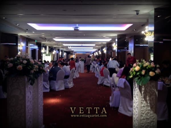 Hotel Fort Canning Singapore Wedding