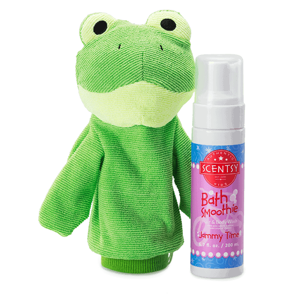Ribbert the Frog Scrubby Buddy + Bath Smoothie