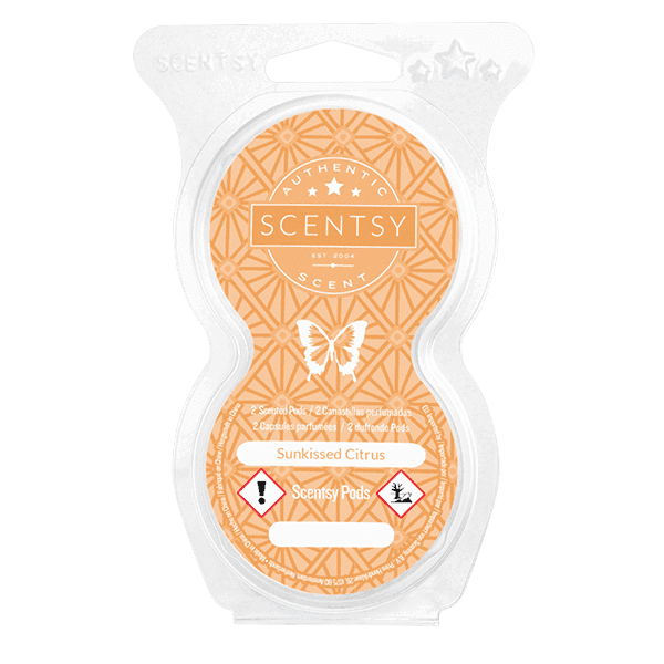 SUNKISSED CITRUS SCENTSY POD TWIN PACK