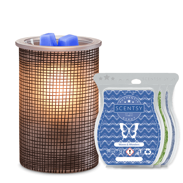 Crosshatch Scentsy Warmer Bundle For Fathers Day