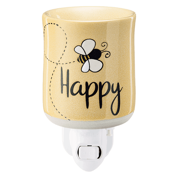 Bee Happy Scentsy Mini Plugin Warmer
