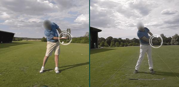 Position three - the club golfer
