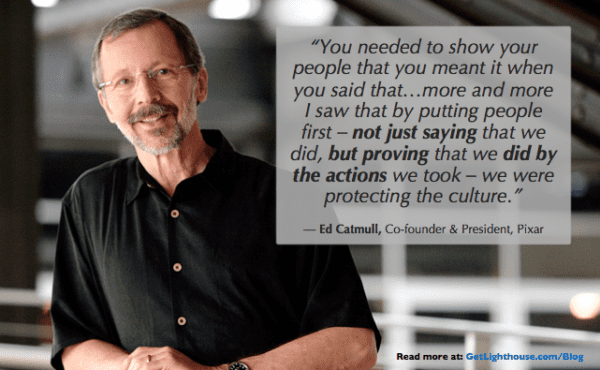 senior leaders set the culture by the example they set