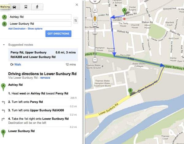 Directions to Panicbutton Studios Rehearsal and recording studios