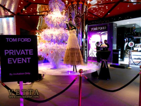 Launch of Tom Ford Singapore at Tangs Orchard