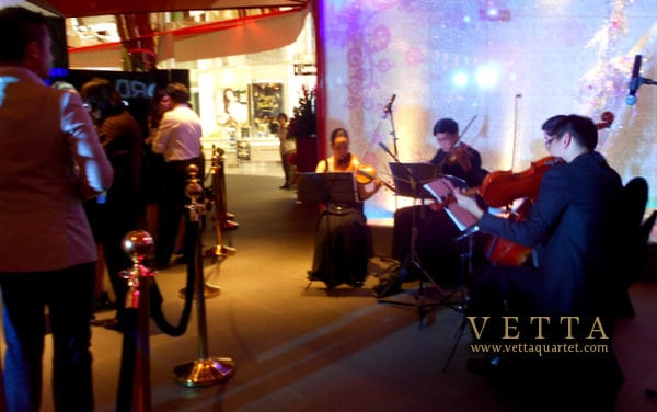 Live music for Product Launch