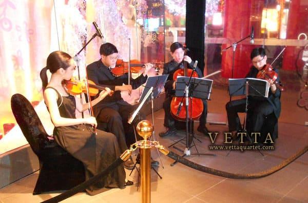 String Quartet for Tom Ford Singapore Launch