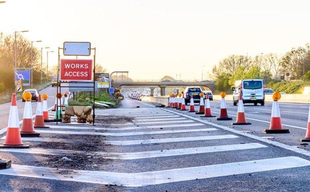 roadworks on motorway_article banner