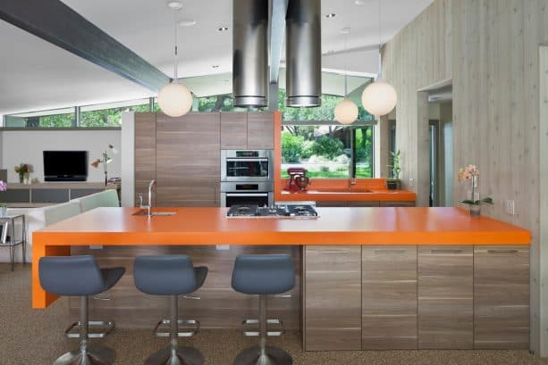 after remodel open concept midcentury ranch kitchen ideas