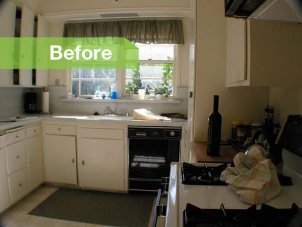 before remodel the kitchen was one of the most cramped spaces in the house