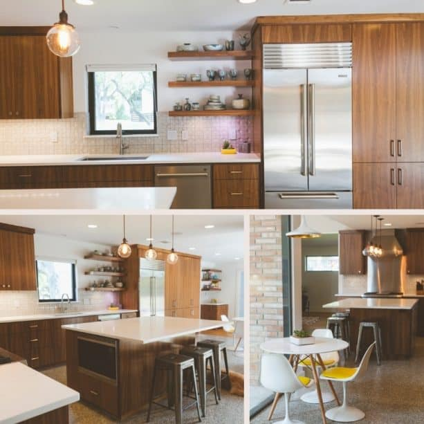 a stunning 1955 raised ranch kitchen remodel (after photos only)