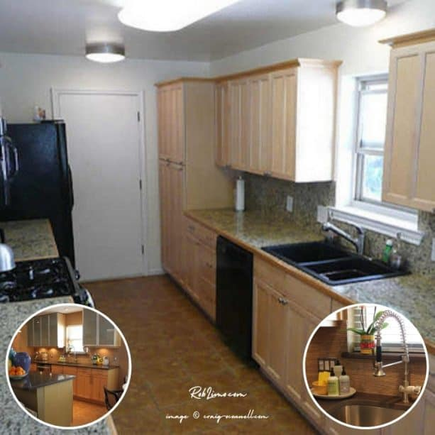 creativity is the key to a successful raised ranch kitchen remodel with a before and after photos