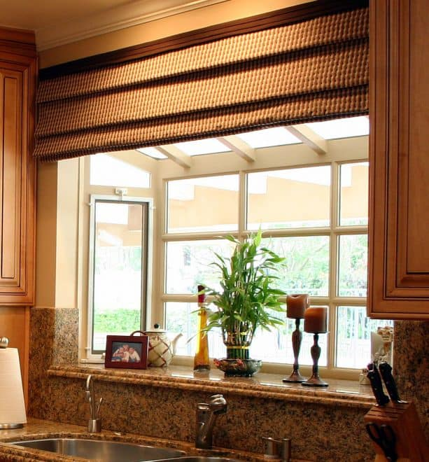raised ranch kitchen remodel with bay window