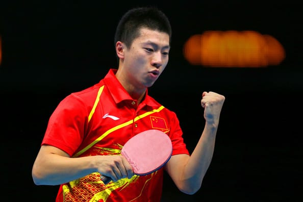 Top 10 Male Table Tennis Players
