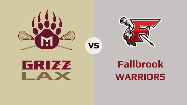 Mission Hills Grizzlies vs. Fallbrook Warriors