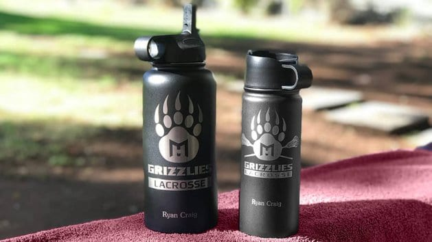Bottle - Grizzlies Logo - On Display